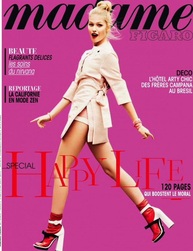 ESTHER HAASE FOR MADAME FIGARO FRANCE cover
