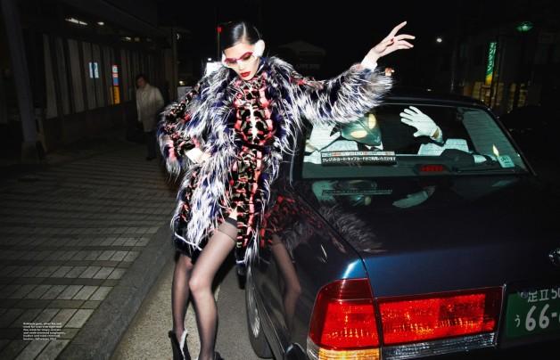 Ming Xi in 'Sexy Beast' by Mari Sarai for Harper's Bazaar Singapore July 2013