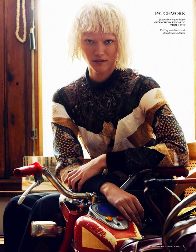 Fashion Forward Vogue Netherlands August 2013 16