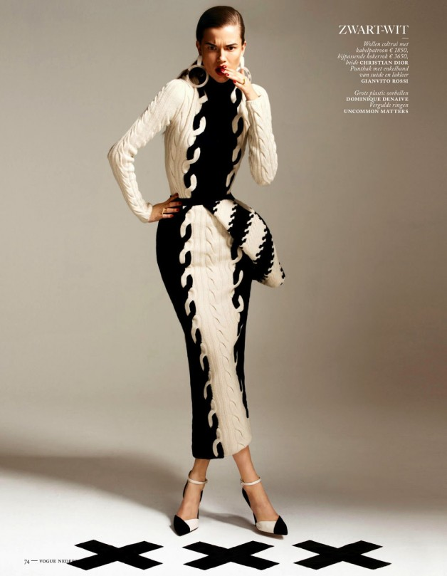 Fashion Forward Vogue Netherlands August 2013 2