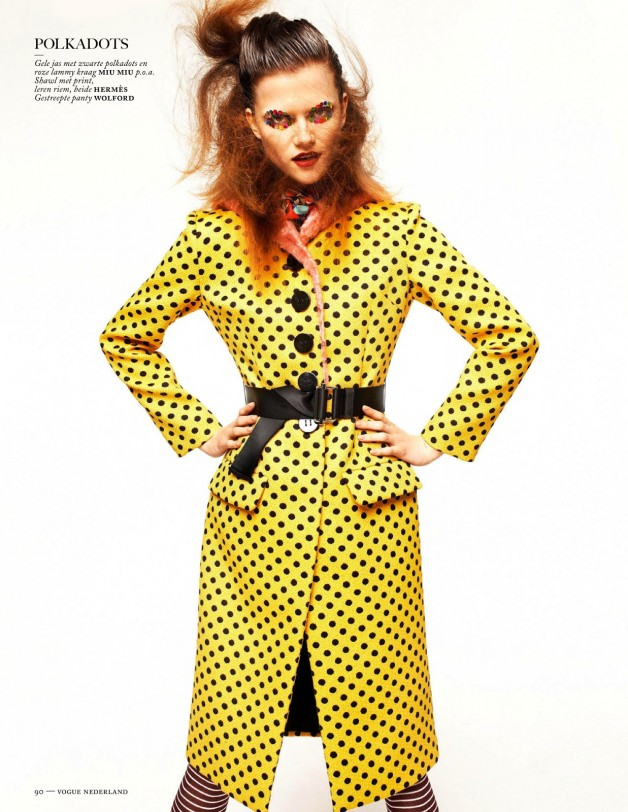 Fashion Forward Vogue Netherlands August 2013 20