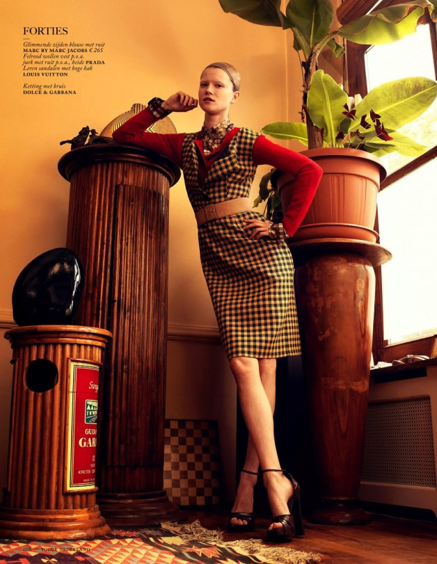 Fashion Forward Vogue Netherlands August 2013 38
