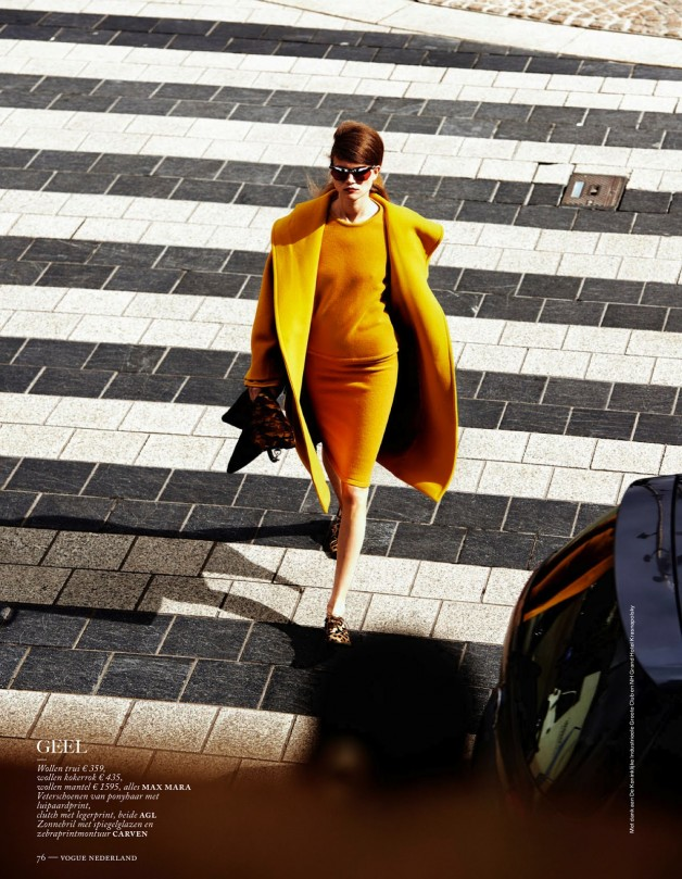 Fashion Forward Vogue Netherlands August 2013 4