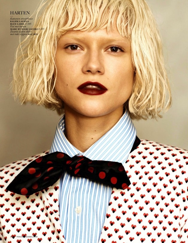 Fashion Forward Vogue Netherlands August 2013 6