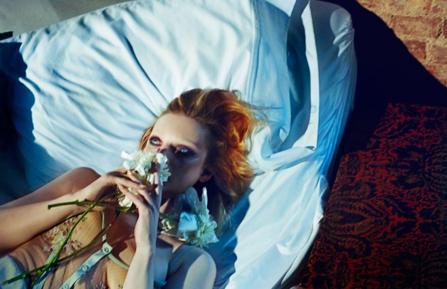 Guinevere van Seenus by Txema Yeste for Numero 5