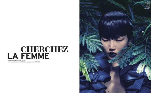 Gwen Lu By Chuando And Frey For L'officiel Singapore 2