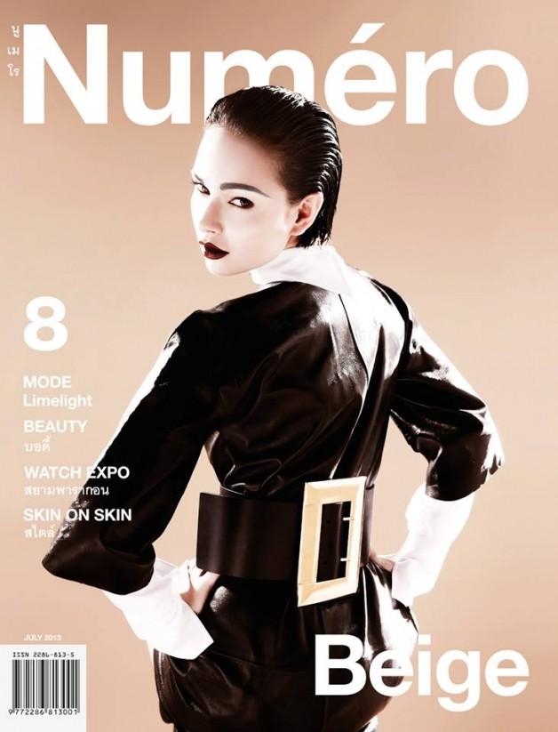 Jessica Amornkuldilok by Thananon Thanakornkarn Numero Thailand cover