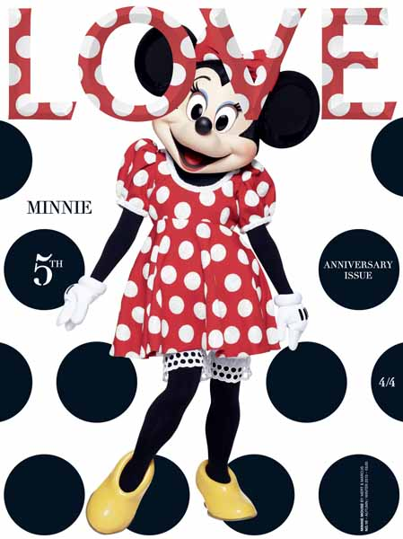 Love Cover Minnie Mouse