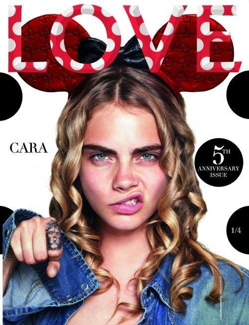 Love Magazine Cover Cara Delevigne Mert & Marcus
