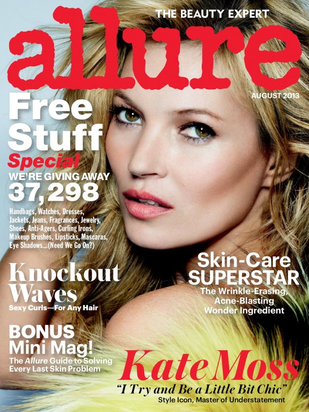 kate moss allure cover