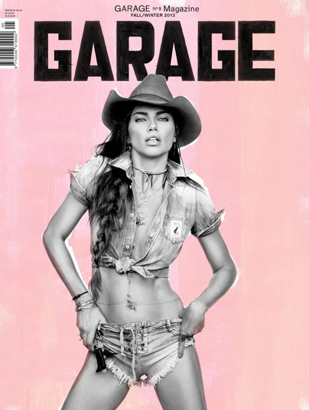 Adriana Lima Garage Magazine Cover 2
