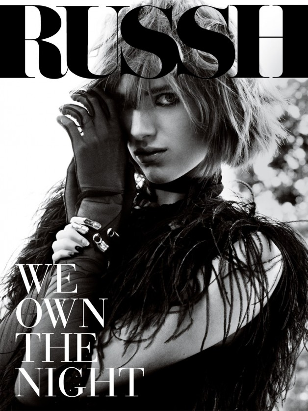 Ashleigh Good & Sylvester Henriksen by Alex Franco For Russh Cover