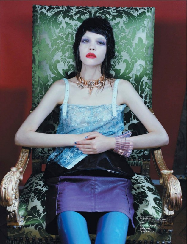 Black Candy by Emma Picq For Jalouse 11
