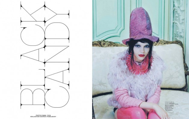 Black Candy by Emma Picq For Jalouse 2
