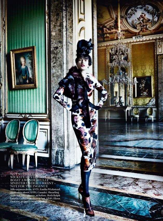Catherine McNeil 'Prima Donna' by Mario Testino Vogue UK 10