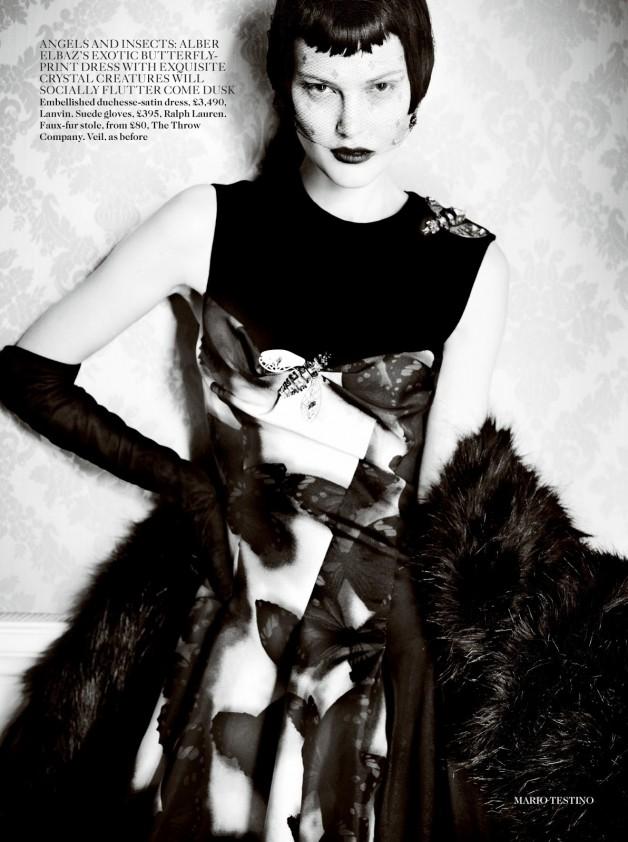 Catherine McNeil 'Prima Donna' by Mario Testino Vogue UK 4