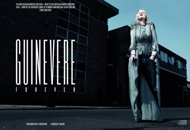 Guinevere van Seenus by Willy Vanderperre for V Magazine