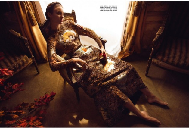 Jac Jagaciak by Camilla Akrans Vogue Italia Couture Supplement 2