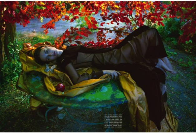Jac Jagaciak by Camilla Akrans Vogue Italia Couture Supplement 5
