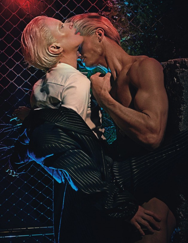 Love in All the Wrong Places by Steven Klein for W Magazine 6
