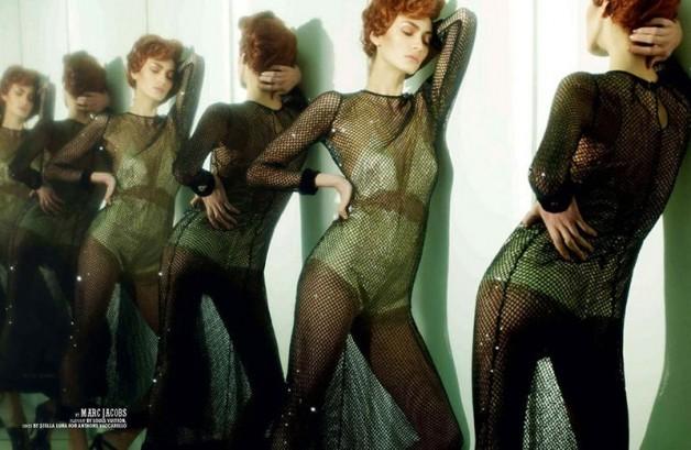 Nastya Kusakina in 'La Notte' By Benjamin Lennox For 10 Men 1