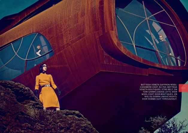 The Final Frontier by Steven Klein for Vogue 1