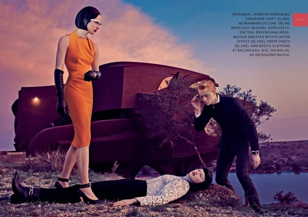 The Final Frontier by Steven Klein for Vogue 3