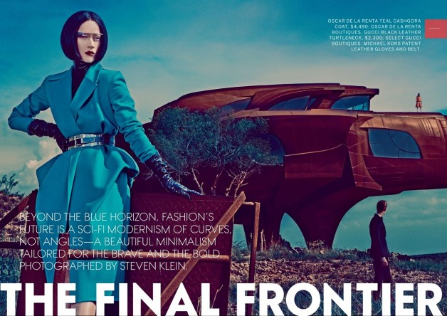 The Final Frontier by Steven Klein for Vogue
