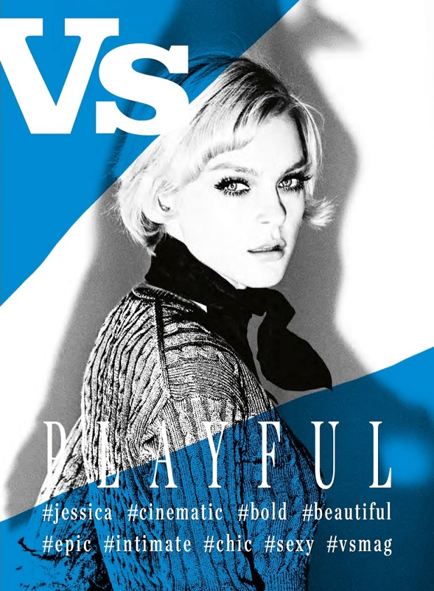 Vs. Magazine Cover by Ellen von Unwerth FW  2013 2