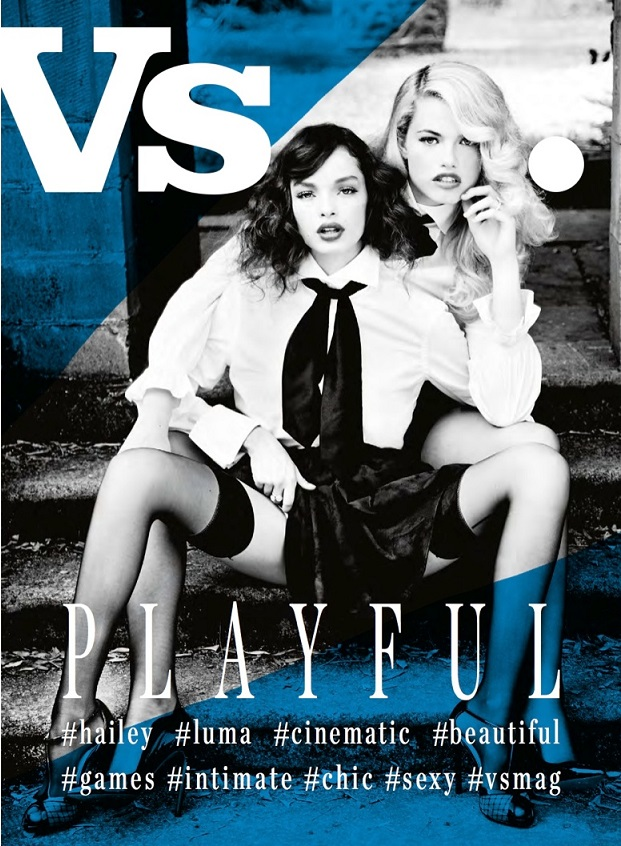 Vs. Magazine Cover by Ellen von Unwerth FW 20131