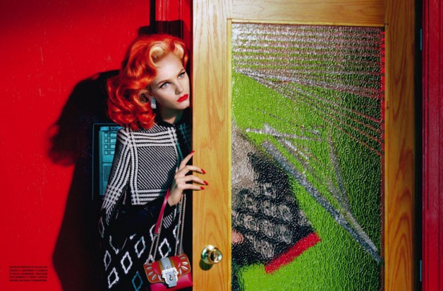 anmari botha by miles aldridge vogue italia 1