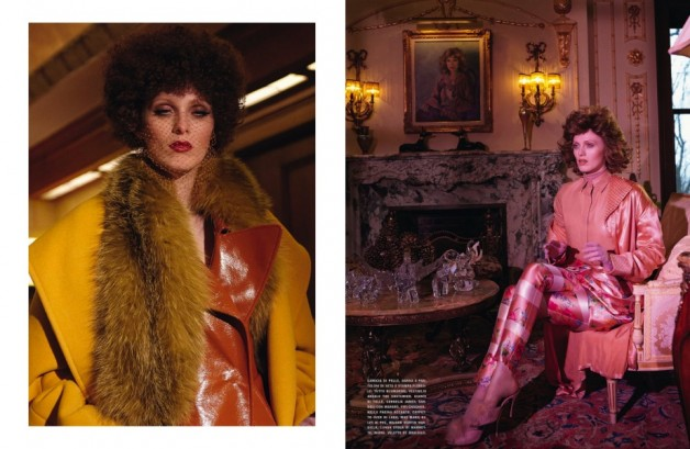 karen elson ever changing lady vogue italia 6