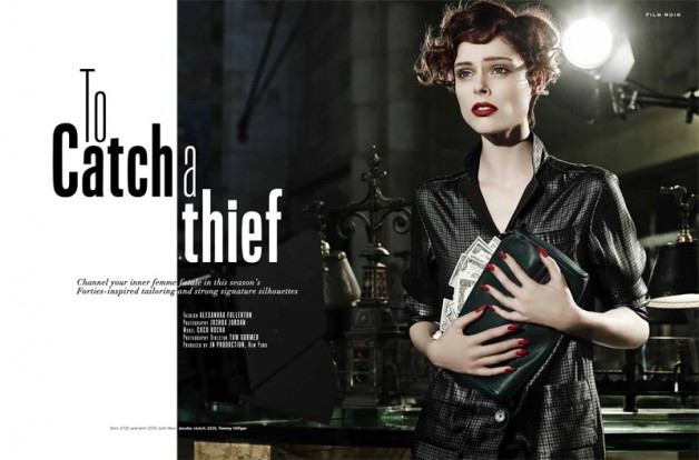 Coco Rocha 'To Catch a Thief' Joshua Jordan for Stylist 1