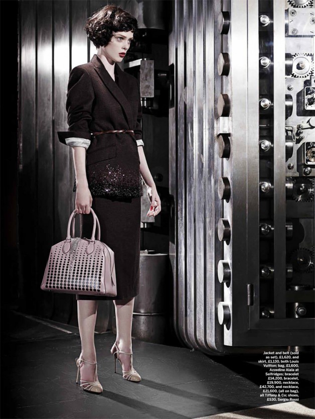 Coco Rocha 'To Catch a Thief' Joshua Jordan for Stylist 2