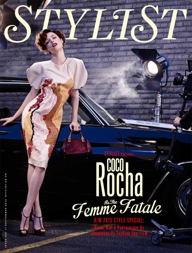 Coco Rocha 'To Catch a Thief' Joshua Jordan for Stylist
