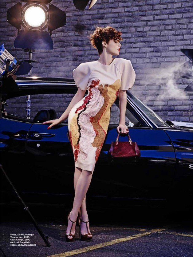 Coco Rocha 'To Catch a Thief' Joshua Jordan for Stylist 7