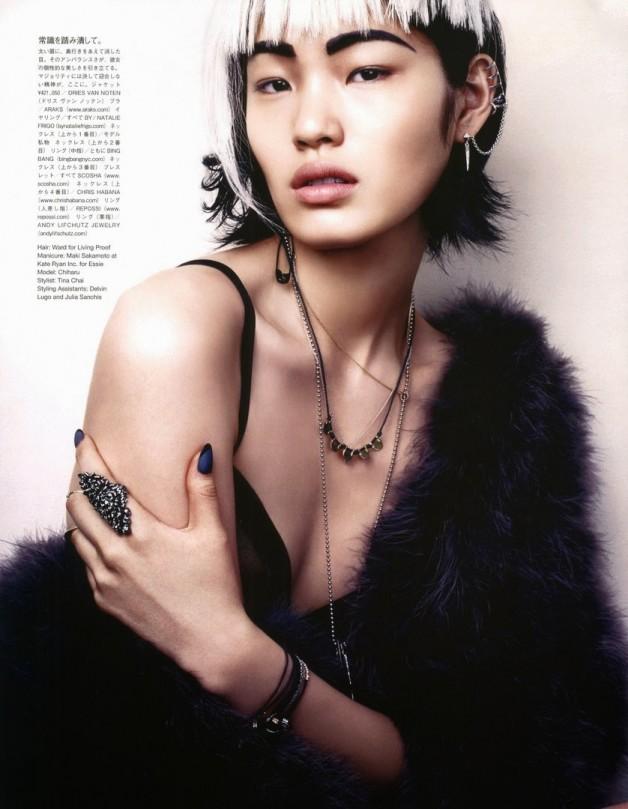 David Slijper For Vogue Japan Beauty November 2013 5