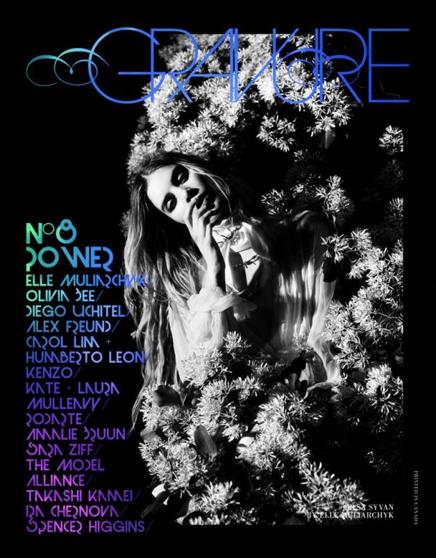 Elsa Sylvan by Elle Muliarchyk for Gravure Magazine Cover