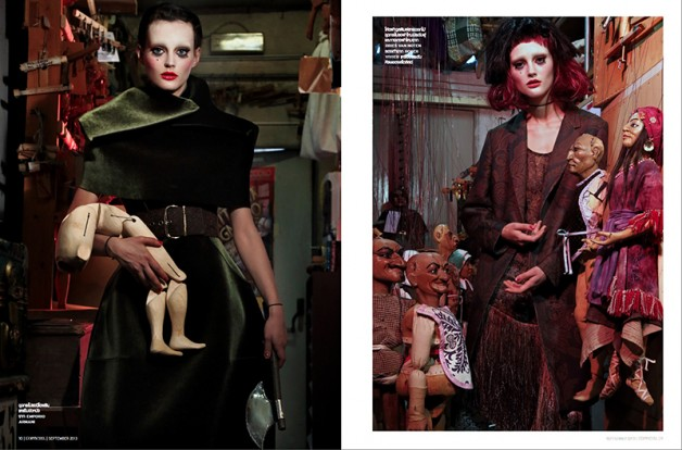 'Just Like A Doll' Sibui Nazarenko by Marco Marezza L'Officiel Thailand 5