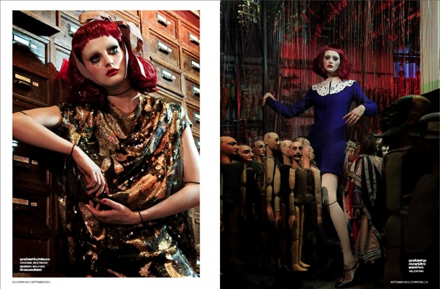 'Just Like A Doll' Sibui Nazarenko by Marco Marezza L'Officiel Thailand 7