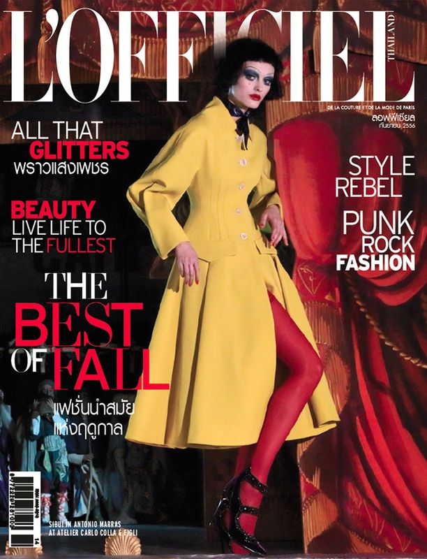 'Just Like A Doll' Sibui Nazarenko by Marco Marezza L'Officiel Thailand cover