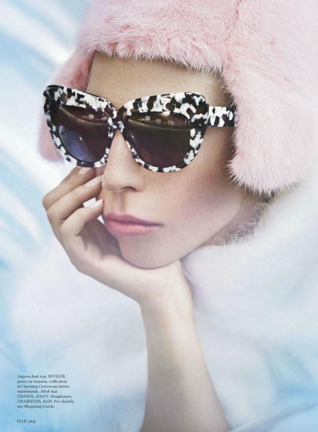Lady Gaga by Ruth Hogben Elle Magazine 01