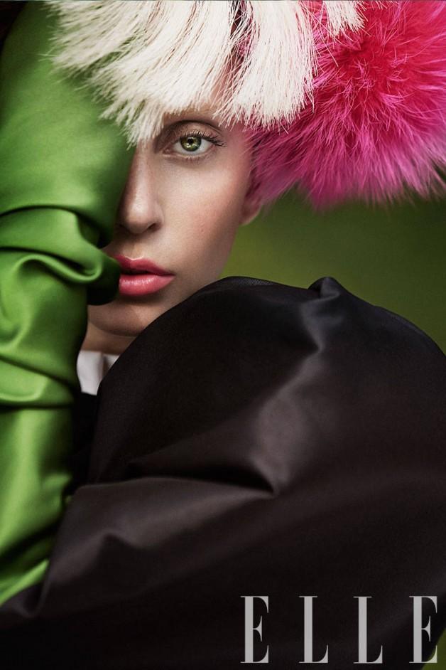 Lady Gaga by Ruth Hogben Elle Magazine 12