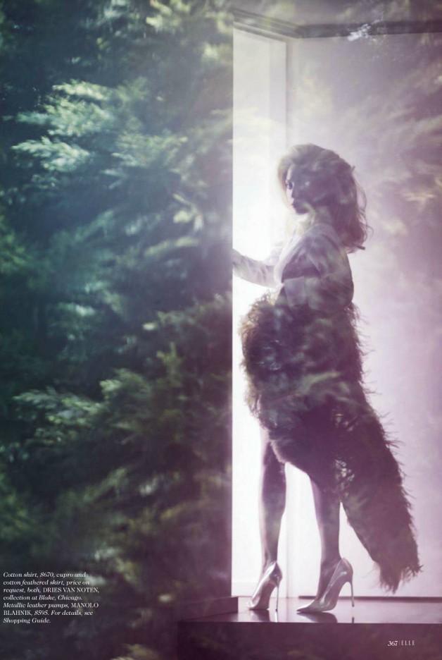 Lady Gaga by Ruth Hogben Elle Magazine 2