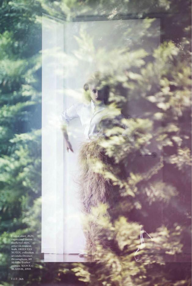 Lady Gaga by Ruth Hogben Elle Magazine 4