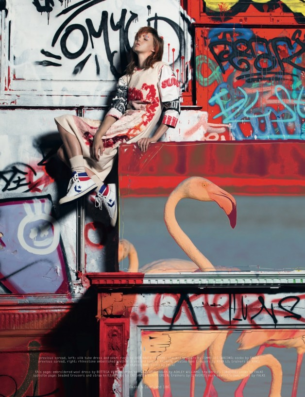 Lindsey Wixson By Pierre Debusschere For Dazed & Confused 5