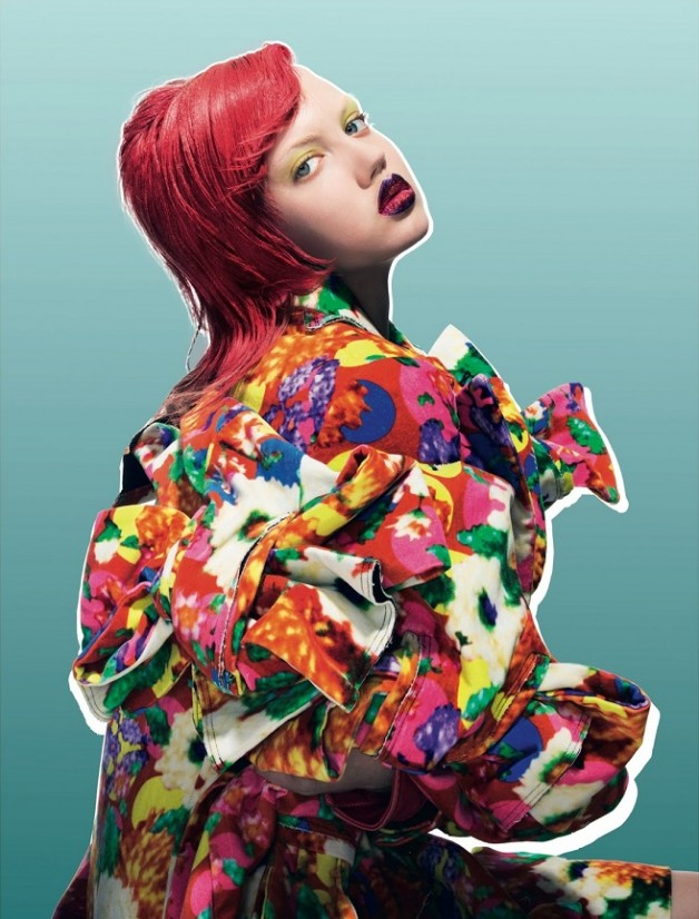 Lindsey Wixson By Pierre Debusschere For Dazed & Confused 7