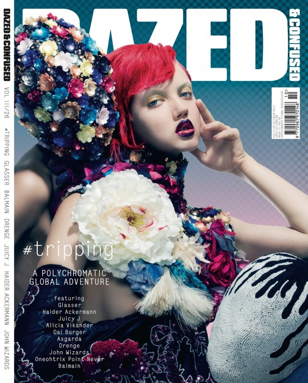 Lindsey Wixson By Pierre Debusschere For Dazed & Confused cover
