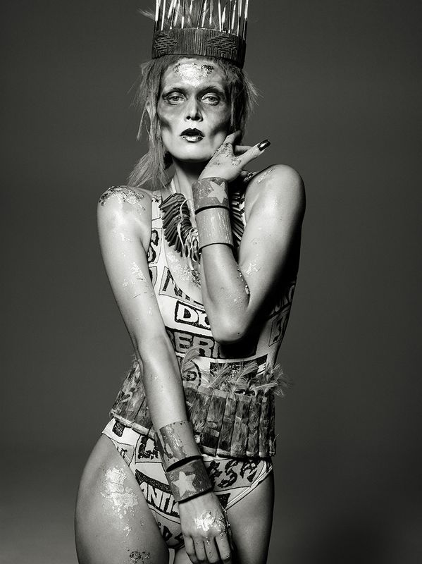 Malgosia Bela by Aaron Ward for Lets Panic Magazine 1
