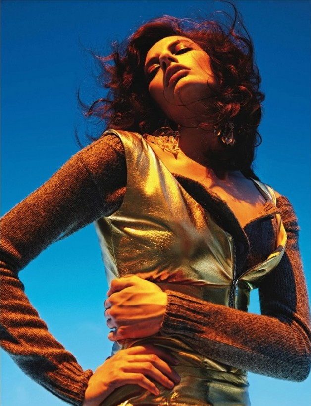 Saskia de Brauw 'Extreme' by Mario Sorrenti Vogue Paris 11